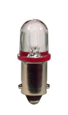 blistr 2ks LED 24V 4W BA9s červená