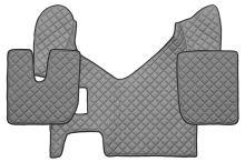 Kožené koberce Iveco Stralis Hi-Way, manual, sivé