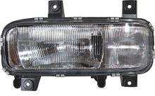 Hlavný svetlomet MB Atego do 2004 H4 + H1 vr. el. motorkom, ľavý