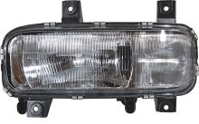Hlavní světlomet MB Atego do 2004 H4 + H1 vč. el. motůrku, levý