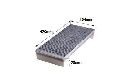 Kabinový filtr MAN TGA/TGX - uhlíkový