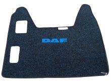 Středový koberec DAF XF95, manual, modrý