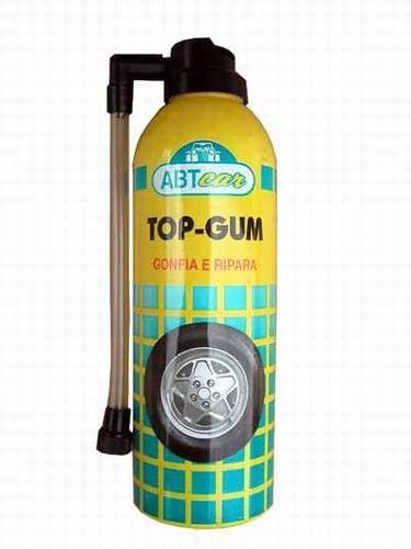 Spray na lepenie pneumatík