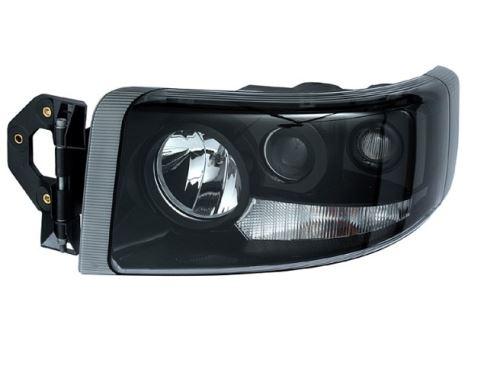 Hlavní světlomet Renault Premium od 2005 černý, levý