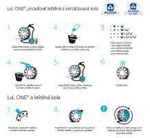Postup čištění disků