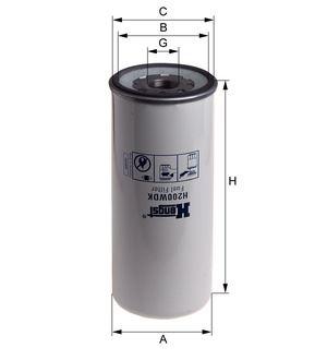 Palivový filtr Volvo FH