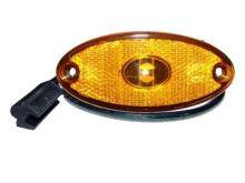 Poziční světlo Flatpoint II oranžové