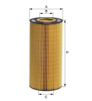 Olejový filtr Hengst E175H D129