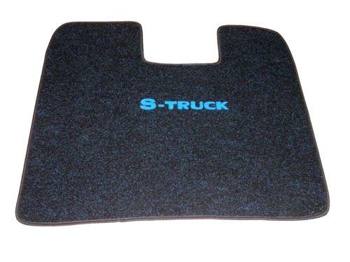 Středový koberec Scania R, automat, modrý