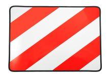 Tabule nadrozměr 40x30, červená/bílá, levá