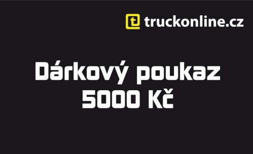 Dárkový poukaz 5 000Kč