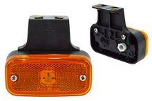 Pozičné svetlo oranžovej žiarovkové s držiakom