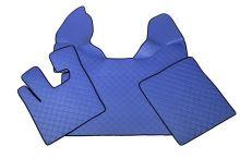 Kožené koberce DAF XF105, manual, modré