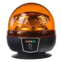 Maják LED magnetický, Akumulátorový, oranžový