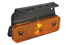 Pozičné svetlo LED Flat-Point s držiakom a káblom 400mm