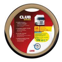Potah volantu Lampa Club 44-46 cm, černý-béžový