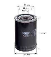 Palivový filtr Scania 1411894