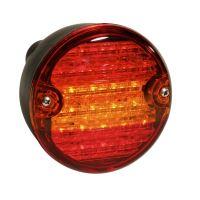 Koncový svetlomet LED guľatý 24V
