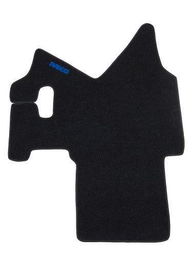 Středový koberec Iveco Stralis do 2013, široká kab., manual, modrý