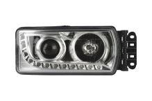 Hlavný svetlomet Iveco Stralis Hi-way od 2013, pravý, bez motorkom