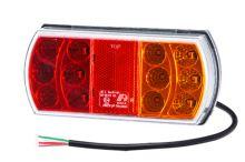 Koncové LED světlo Luminex s kabelem, pravé