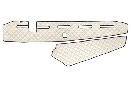 Koženka na palubní desku Volvo FH4, béžová