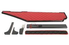 Polička dlhá MB Actros MP4, široká kabína, LED, červená koženka