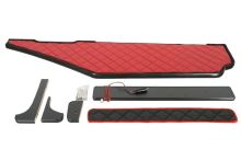 Polička dlouhá MB Actros MP4, široká kabina,  LED, červená koženka