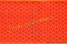 Reflexní páska pro pevný podklad, červená 1m