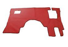 Koženková podlaha MB Actros MP IV DELUX, červená