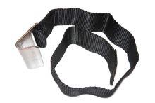 Popruh plachty s hákem - plechový hák