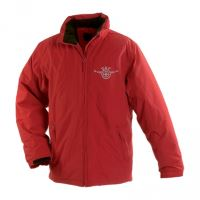 Zimní bunda DAF, červená