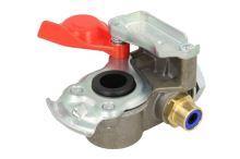 Vzduchová hlavice M24x1,5 červená s filtrem