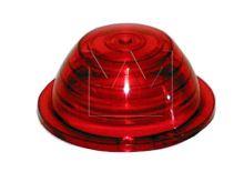 Sklo obrysové svítilny (parůžku) červené