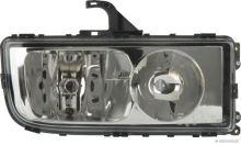 Hlavný svetlomet s el. motorčekom Axor II, pravý