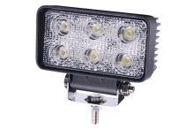Pracovný svetlomet 6 LED, bodový