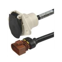 Zásuvka 7pol typ S s kabelem MAN
