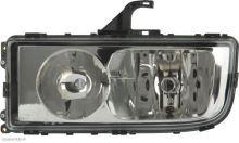 Hlavný svetlomet s el. motorčekom Axor II, ľavý