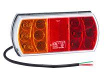 Koncové LED světlo Luminex s kabelem, levé