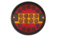 Koncový svetlomet LED guľatý