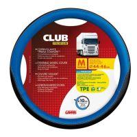 Potah volantu Lampa Club 44-46 cm, černý-modrý