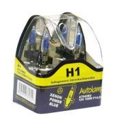 Krabička H1 12V 100W P14,5s POWER BLUE 2ks