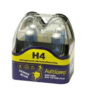 H4 12V 60/55W P43t XenonBlue, krabička 2ks
