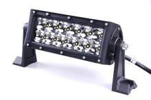 Dálkový LED světlomet - rampa 36W (12x LED), 21cm
