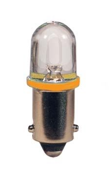 blister 2ks LED 24V 4W BA9s oranžová