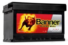 Autobatérie BANNER 74Ah pravej +