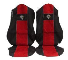 Autopoťahy MB Actros MP4 - sklopný sedák, červené