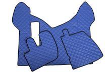 Kožené koberce Renault Premium od 2005, modre