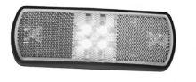Pozičné svetlo biele LED s káblom 0,5m 9-33V
