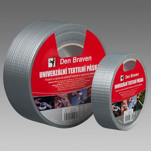 Univerzálna páska - strieborná, 50mmx10m